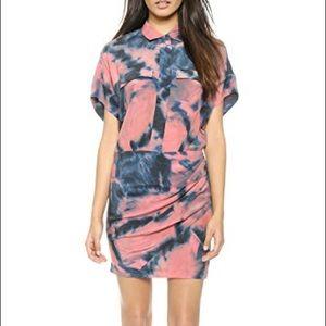Iro ocean shirtdress mini